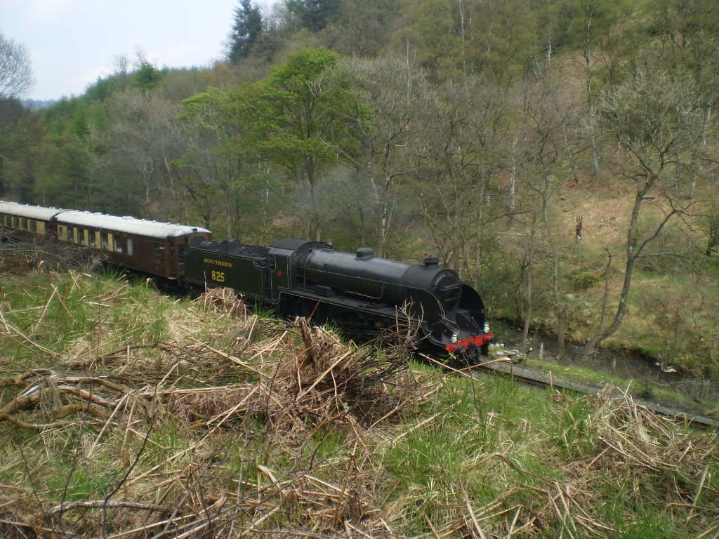 Goathland railway walk May 13 11